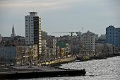 stock photo of malecon  - CUBA  - JPG