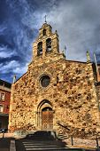 stock photo of fatima  - Our Lady of Fatima church in Astorga Spain - JPG