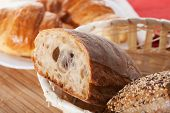 Wholewheat Bread Closeup