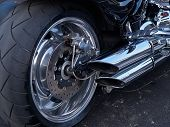 Motorcycle Bike Chrome Engine And Exhaust