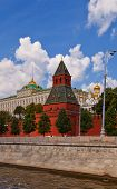 Taynitskaya Tower (1485) Of Moscow Kremlin (unesco Site)