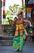 Traditional Balinese Barong Dance performance