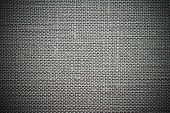 Ashy Background Of Rough Dense Fabric
