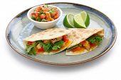 chicken quesadillas, mexican food