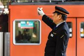 Train Conductor in Osaka