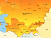 Central Asia countries