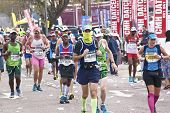Masked Runner Competing In Comrades Ultra Marathon