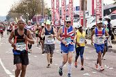 British Runner Competing In Comrades Ultra Marathon