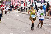 Brazilian Female Runner At Comrades Ultra Marathon