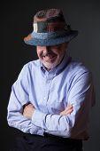 Man In Irish Hat