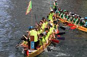 dragon boat race at Chai Wan, Hong Kong