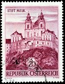 Melk Abbey Stamp