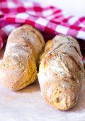 Homemade Baguette Bread