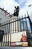 Nelson statue, Birmingham.