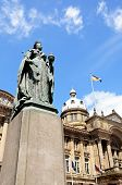 picture of west midlands  - Statue of Queen Victoria with the Council House to the rear Victoria Square Birmingham West Midlands England UK Western Europe - JPG