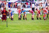 Nadaam Mongolian Wrestlers