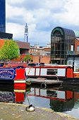 Narrowboats, Gas Street Basin, Birmingham.