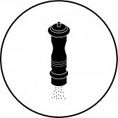pepper mill symbol