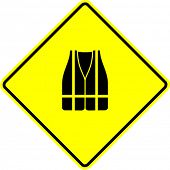 safety vest sign