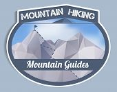 Mountain Guides Sticker - Polygonal