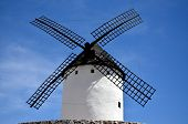 Old windmill in La Mancha