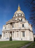 Church of Hotel des invalides Paris France