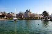 The Luxembourg garden in Paris