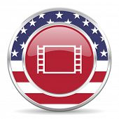 movie american icon, usa flag