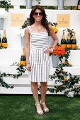 JERSEY CITY, NJ-MAY 31: TV personality Lauren Scala attends the 7th Annual Veuve Cliquot Polo Classi