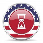 time american icon, usa flag