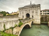 North gate into Treviso,. Italy
