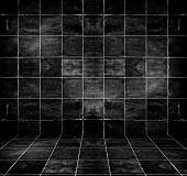 Dark Tiled Room
