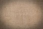 Burlap Or Sacking Texture For The Background