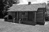 Historic Cummings Log Cabin, Abington, Virginia