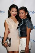LOS ANGELES - JUN 1:  Cierra Ramirez, Savannah Ramirez at the 7th Annual Television Academy Honors a