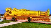 Reclining Buddha in Vientiane, Laos
