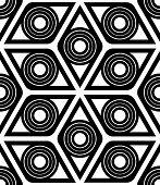 Geometrical Rhombus Pattern