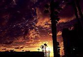 Beach Sunset in San Diego