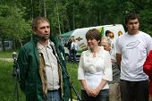 Igor Chestin, Yevgenia Chirikova, Oleg Melnikov At The Forum Of Civil Activists Antiseliger