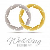 Wedding Photography Vector Design Template