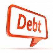 Speech Bubble Debt