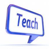 Speech Bubble Teach