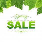 Spring Poster, Vector Illustration