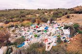 Illegal Garbage Disposal Pollutes Environment