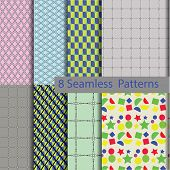 8 Model Seamless Patterns