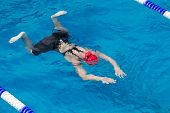 Makedonian Swimming Race Greece