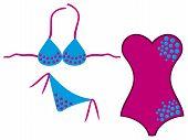 swimsuit and bikini