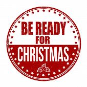 Be Ready For Christmas Stamp