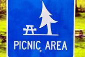 Picnic Area Sign