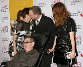 LOS ANGELES - NOV 12:  Kristen Stewart, Richard Glatzer, Wash Westmoreland, Julianne Moore at the
